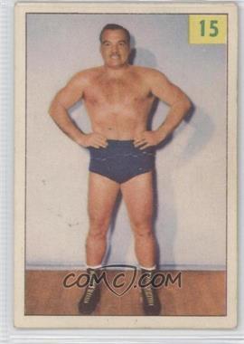 1955-56 Parkhurst Wrestling - [Base] #15 - Whipper Watson