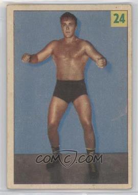 1955-56 Parkhurst Wrestling - [Base] #24 - Nick Roberts