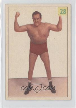 1955-56 Parkhurst Wrestling - [Base] #28 - Jim 'Goon' Henry
