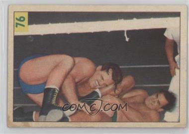 1955-56 Parkhurst Wrestling - [Base] #76 - Lou Thesz