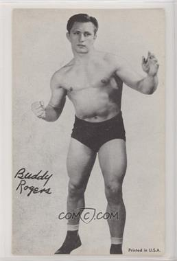 1960s Exhibit Wrestling - [Base] #BURO - Buddy Rogers