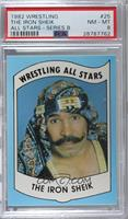 The Iron Sheik [PSA 8 NM‑MT]