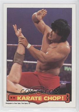 "1985 O-Pee-Chee Pro Wrestling Stars - [Base] #30 - Ricky ""The Dragon"" Steamboat"