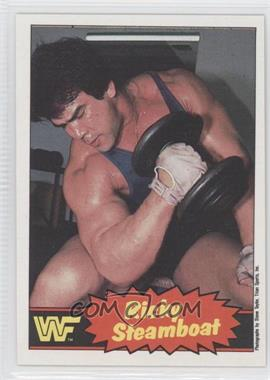 "1985 O-Pee-Chee Pro Wrestling Stars - [Base] #5 - Ricky ""The Dragon"" Steamboat"
