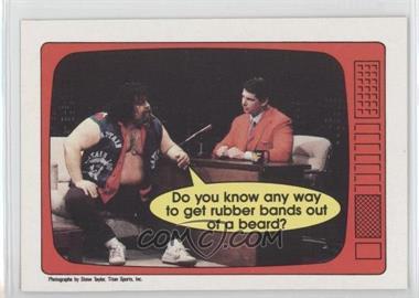 1985 O-Pee-Chee Pro Wrestling Stars - [Base] #55 - Lou Albano