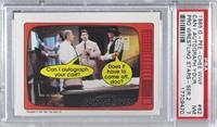 Vince McMahon, Roddy Piper, Bob Orton [PSA7NM]