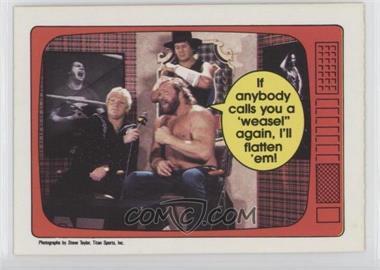 1985 O-Pee-Chee Pro Wrestling Stars - [Base] #65 - Big John Studd