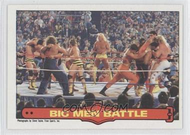 1985 O-Pee-Chee Pro Wrestling Stars - [Base] #68 - William Perry, Big John Studd
