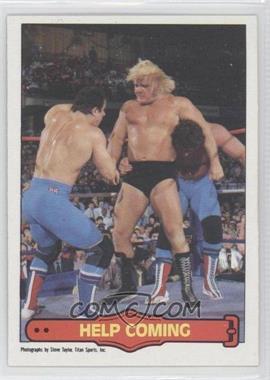 """1985 O-Pee-Chee Pro Wrestling Stars - [Base] #69 - Greg """"The Hammer"""" Valentine, Davey Boy Smith, Dynamite Kid"""