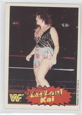 1985 O-Pee-Chee Pro Wrestling Stars - [Base] #9 - Lei Lani Kai