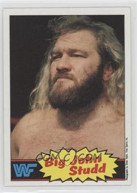 1985 Topps WWF - [Base] #12 - Big John Studd