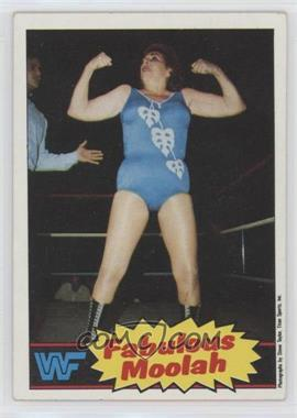 1985 Topps WWF - [Base] #13 - The Fabulous Moolah