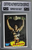 Tito Santana [CAS Certified Sealed]