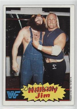 1985 Topps WWF - [Base] #15 - Hillbilly Jim, Hulk Hogan