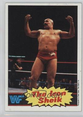 1985 Topps WWF - [Base] #2 - The Iron Sheik