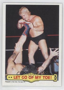 "1985 Topps WWF - [Base] #22 - Greg ""The Hammer"" Valentine, Tito Santana"