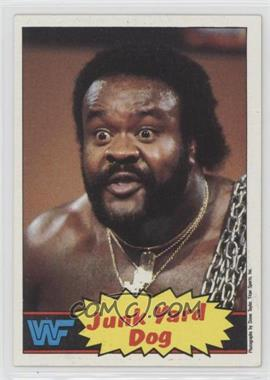 1985 Topps WWF - [Base] #4 - Junkyard Dog