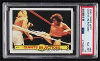 Andre the Giant, Big John Studd [PSA8NM‑MT]
