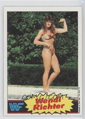 1985 Topps WWF - [Base] #8 - Wendi Richter