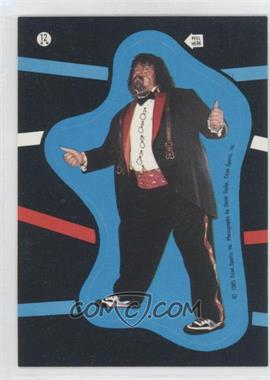 1985 Topps WWF - Stickers #12 - Lou Albano