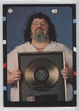1985 Topps WWF - Stickers #13 - Lou Albano