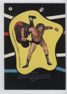 1985 Topps WWF - Stickers #18 - Rene Goulet, S.D. Jones