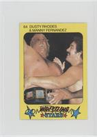 Dusty Rhodes & Manny Fernandez
