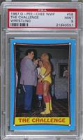 The Challenge (Andre the Giant, Roddy Piper, Hulk Hogan) [PSA 9]
