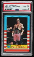 Bret Hart [PSA 8 NM‑MT]