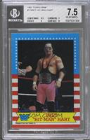Bret Hart [BGS 7.5 NEAR MINT+]