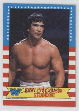 """1987 Topps WWF - [Base] #21 - Ricky """"The Dragon"""" Steamboat [EXtoNM]"""