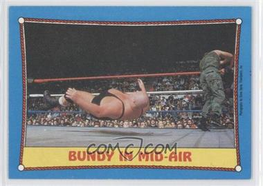 1987 Topps WWF - [Base] #42 - King Kong Bundy