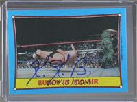 King Kong Bundy [Leaf Authentics COA Sticker]