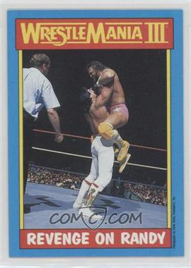 "1987 Topps WWF - [Base] #50 - Ricky ""The Dragon"" Steamboat, Randy Savage"