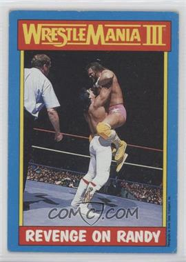 """1987 Topps WWF - [Base] #50 - Ricky """"The Dragon"""" Steamboat, Randy Savage"""