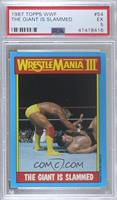 Andre the Giant, Hulk Hogan [PSA5EX]