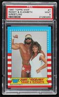 Randy Savage, Elizabeth [PSA 9 MINT]