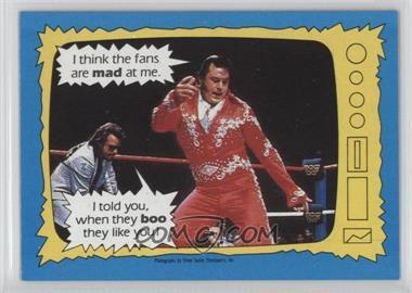 1987 Topps WWF - [Base] #72 - Jimmy Hart, Honky Tonk Man