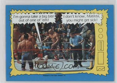 1987 Topps WWF - [Base] #74 - Matilda, Davey Boy Smith