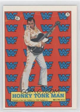 1987 Topps WWF - Stickers #10 - Honky Tonk Man