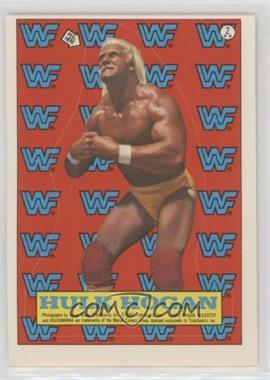 1987 Topps WWF - Stickers #2 - Hulk Hogan