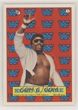 1987 Topps WWF - Stickers #3 - Koko B. Ware