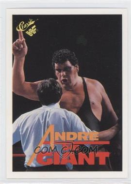 1989 Classic WWF - [Base] - No Copyright #111 - Andre the Giant
