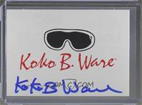 Koko B. Ware [Leaf Authentics COA Sticker]