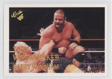 1990 Classic WWF - [Base] #93 - Barry Windham