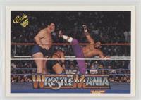 Wrestlemania VI (Haku, Andre the Giant)