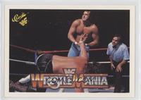 Wrestlemania III (Honky Tonk Man, Jake