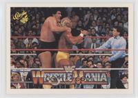 Wrestlemania IV (Andre the Giant, Hulk Hogan)