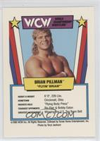 Brian Pillman (drop kick)