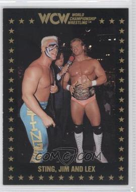 1991 Championship Marketing WCW - [Base] #53 - Lex Luger